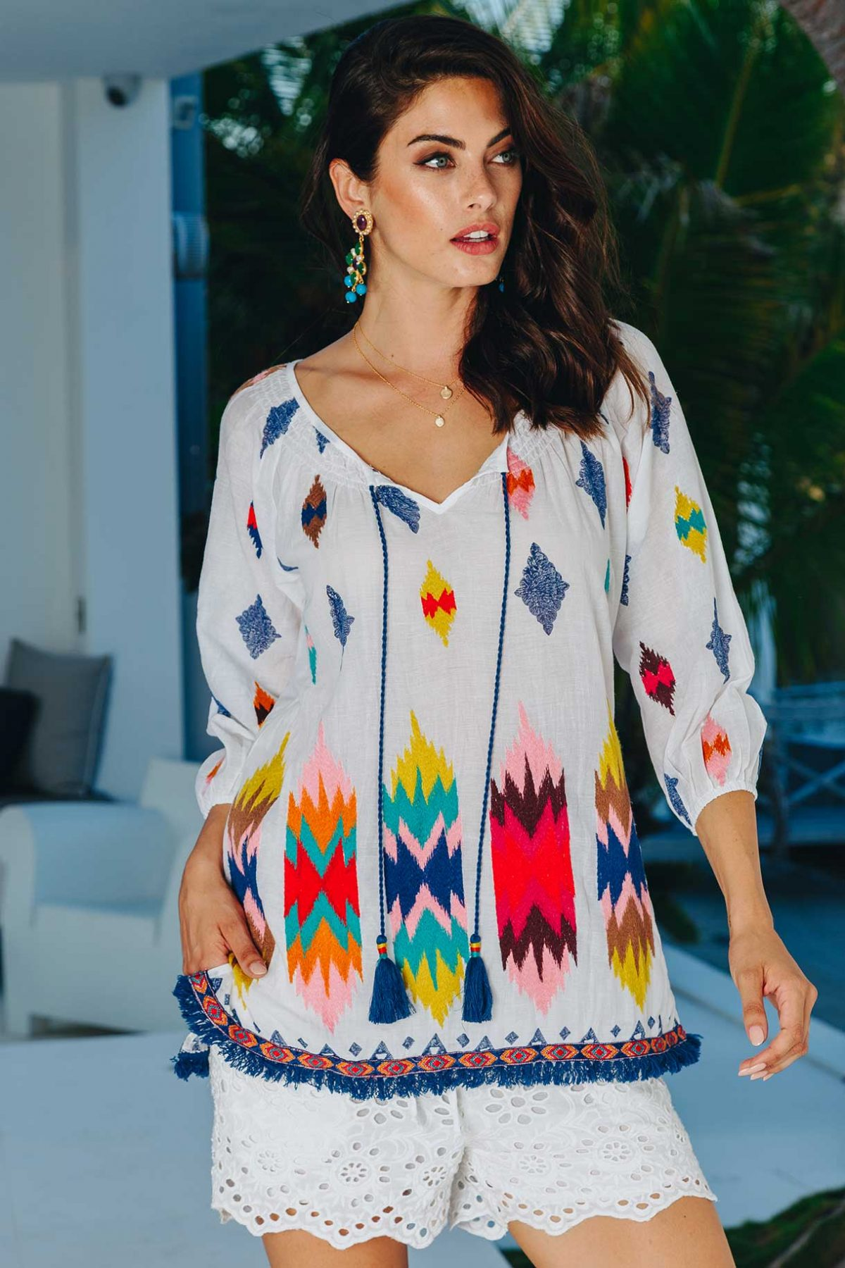 Lulasoul Aztec Shirt collection July 2019