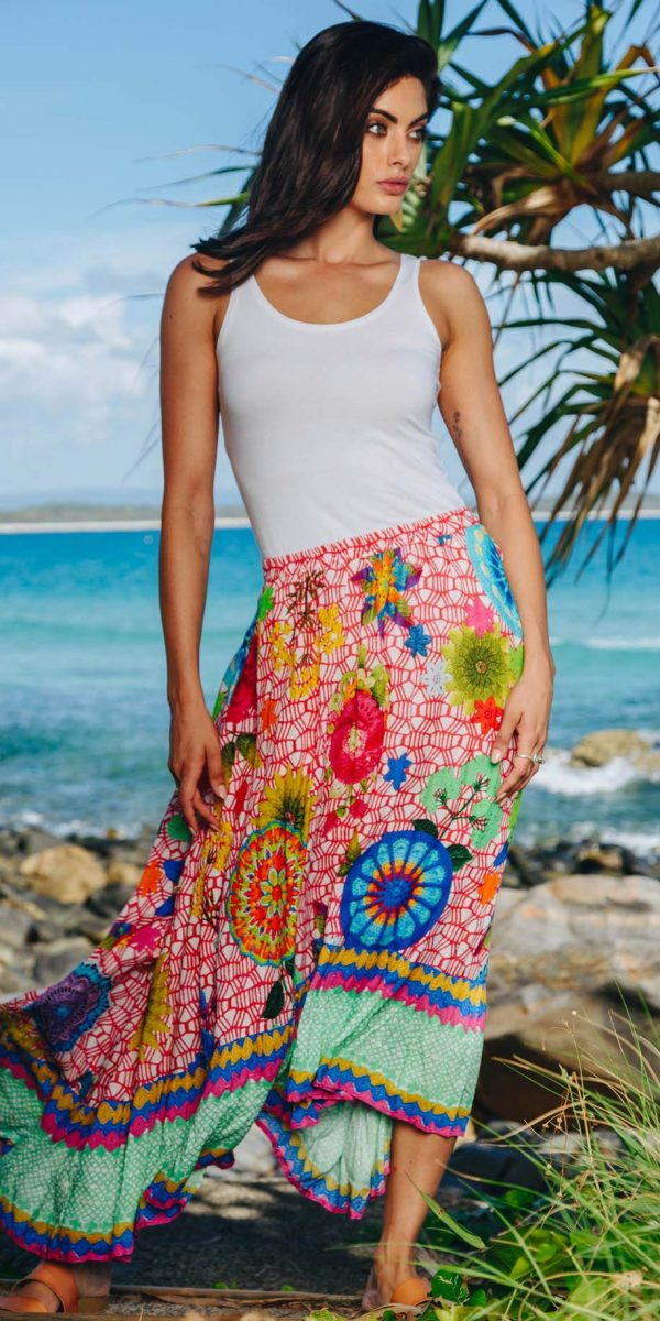 Lulasoul Crotchet Skirt collection October 2019