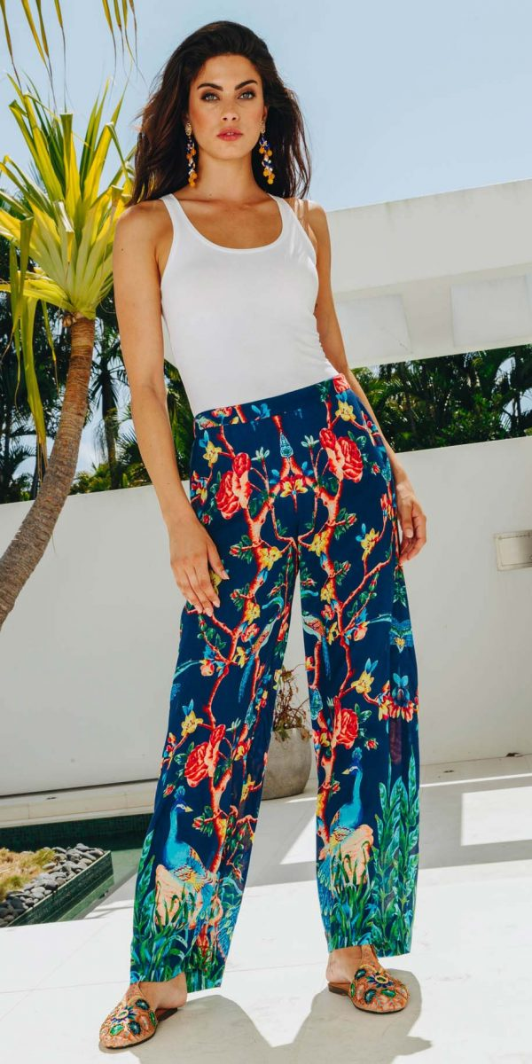 Lulasoul Peacock Pant collection August 2019
