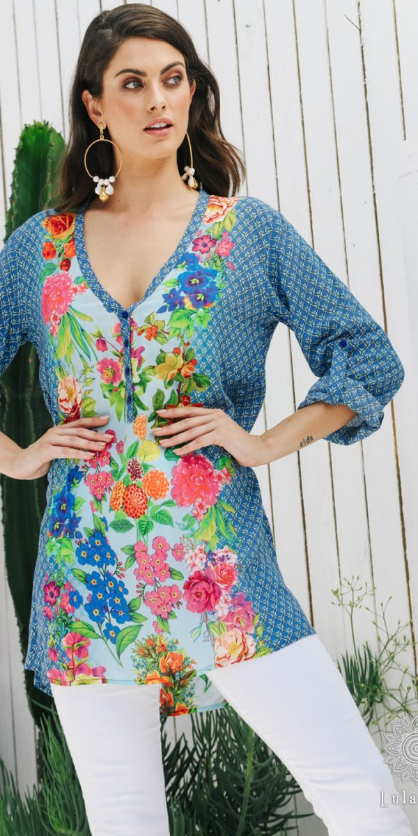 Lulasoul Carmen Tunic collection Aug-20