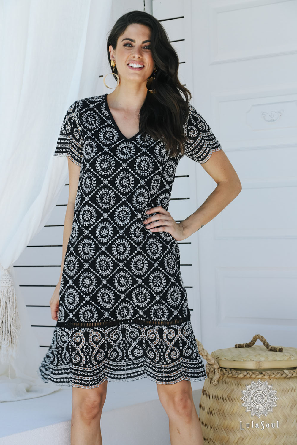 Lulasoul Eternity Dress Black collection Aug-20