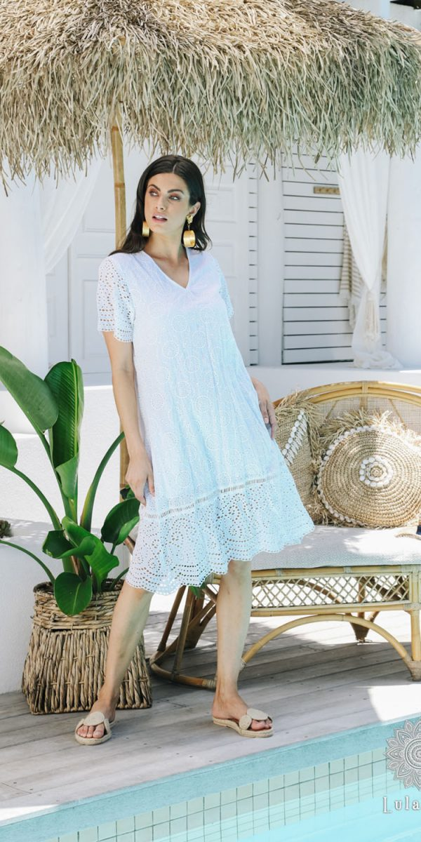 Lulasoul Eternity Dress White collection Aug-20