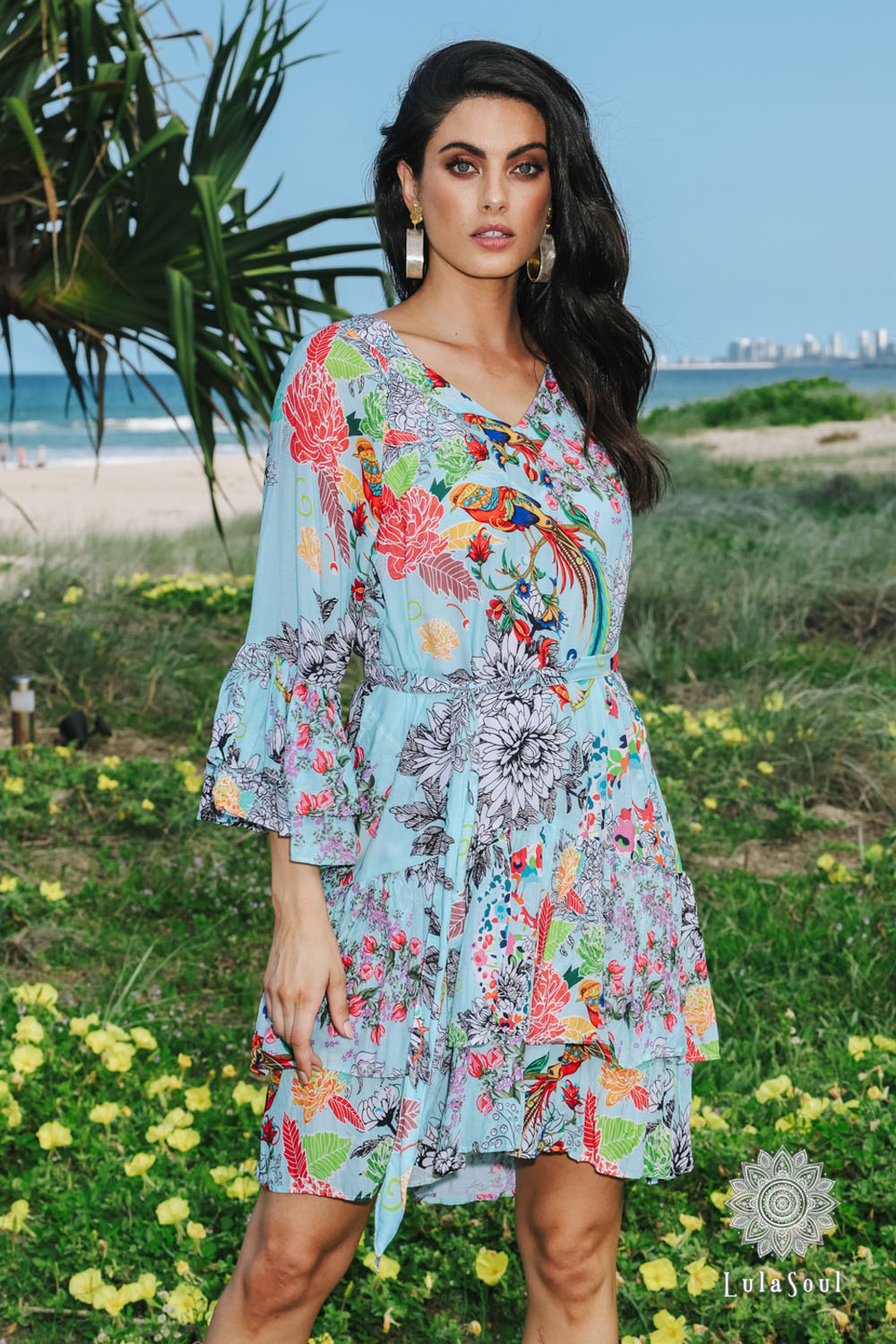 Lulasoul Poly Dress Mint collection Aug-20
