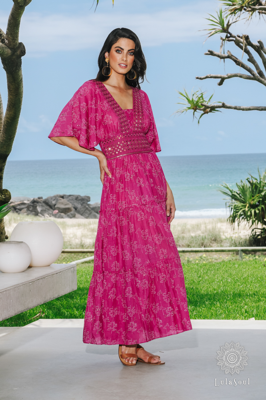 Lulasoul Alexa Maxi Fuchsia collection Oct-20